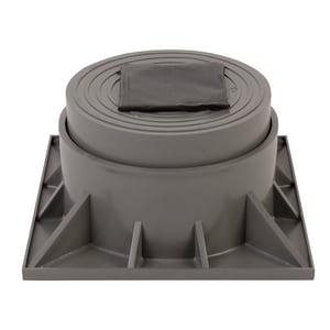 Diversitech Two Piece Reg Heat Pump Riser Gray DIVHPR2P