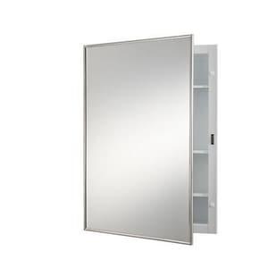 Jensen Styleline 22-1/8 in. Steel Medicine Cabinet in White R420BC
