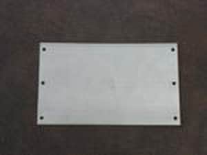 Metal Products 6 in. 16 ga 8- Hole Stamped FHA Plate MPS18166