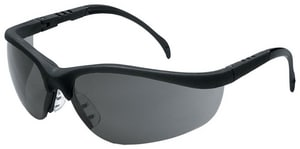 MCR Safety Klondike® Safety Glasses Black Grey CKD112