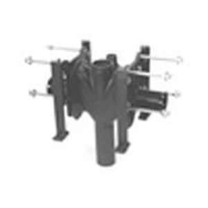 Zurn Industries 4 in. No-Hub Adjustable Vertical Carrier ZZ12041ND