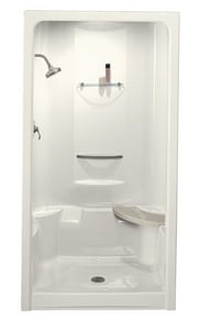 Kohler Sonata® 36 x 48 in. Shower Stall with Integral High-Dome Ceiling K1687