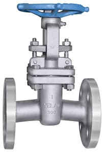 Velan Valve 300# Carbon Steel Flanged Outside Stem and Yoke Gate Valve with Bolted Bonnet VF1064C02TY