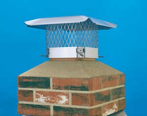 HY-C Company 9 in. Stainless Steel Chimney Cover HSS9