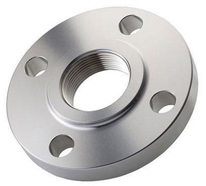 150# Flat Face Threaded 316L Stainless Steel Flange IS6MSSTFK
