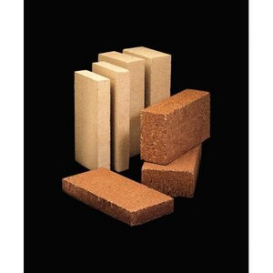 Whitacre Greer 9 x 4-1/2 x 1-1/4 Firebrick Splits in Buff W15432001