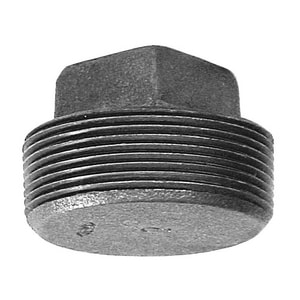 150# Black Malleable Iron Plug IBP