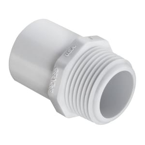 Spears Manufacturing Schedule 40 PVC Spigot x MIP Adapter S461