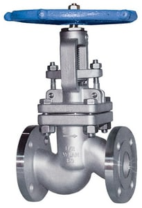 Velan Valve 150# Carbon Steel Flanged Outside Stem and Yoke Globe Valve VF0074C02TY