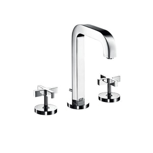 AXOR Citterio 1.5 gpm Double Cross Handle Widespread Lavatory Faucet AX39133