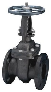 FNW 150# Carbon Steel Flanged Outside Stem and Yoke Gate Valve FNW551