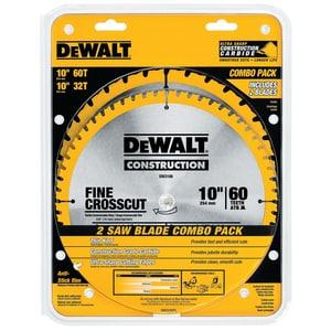 DEWALT 5/8 in. 2-Piece Circular Saw Blade Set DDW3106P5