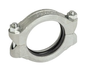 Victaulic Style 89 Galvanized Coupling with Enamel Gasket for Stainless Steel Pipe Style 89 VL089GE0