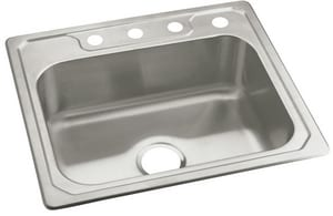 Sterling Plumbing Group Middleton® 4-Hole Single Bowl Kitchen Sink S147114NA