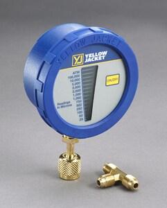 Ritchie Engineering Digital LCD Vacuum Pressure Gauge R69080