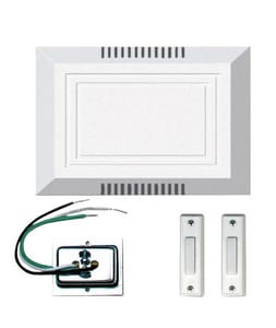 Builder 5 in. 2-Button Light Chime Kit CC102L