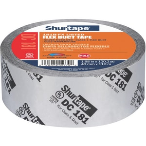 Shurtape DC 181 2 in. x 120 yd. Silver Film Duct Tape SDC181K120SI