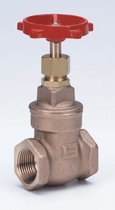 Milwaukee Valve 125# Bronze Threaded Bonnet Non-Rising Stem Gate Valve M105