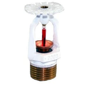 Tyco Fire Suppression & Build 1/2 in. Residential Pendant Sprinkler Head White T512014