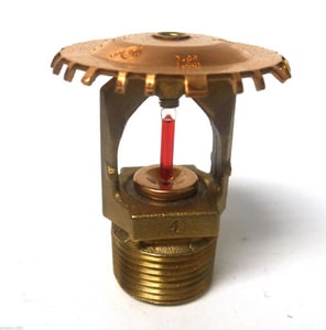 Tyco Fire Suppression & Build TY6137 286 Degree F 3/4 in. Extended Coverage Upright Pendent in Brass T518961