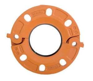 Tyco Figure 71 Painted Grooved Flange Adapter with E-Gasket T710S