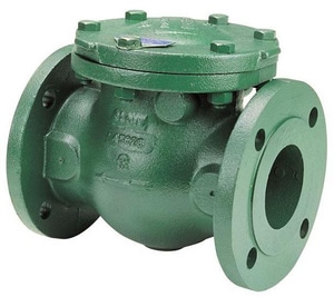 Nibco 150 psi Ductile Iron Flanged Swing Check Valve NF93831