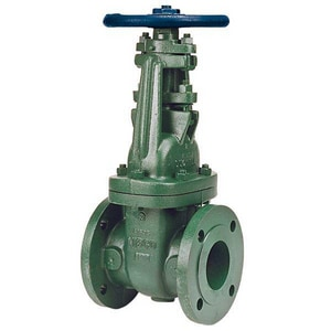 Nibco 150# Ductile Iron Flanged Outside Stem and Yoke Gate Valve NF63731