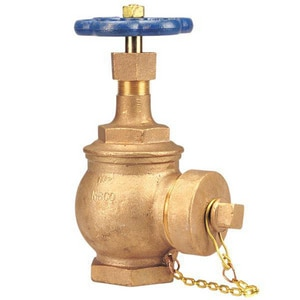 Nibco 2-1/2 in. 300# Bronze Threaded Angle Globe Valve NT331HCL