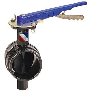 300# Ductile Iron EPDM Grooved Butterfly Valve Latch Lock Lever NGD47653