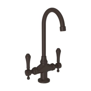 Newport Brass Chesterfield Bar Faucet with Double Lever Handle N1038