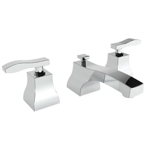 Newport Brass Colorado 1.2 gpm 3-Hole Widespread Lavatory Faucet with Double Lever Handle N1040