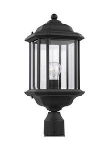 Seagull Lighting Kent 1-Light Outdoor Post Lantern S82029