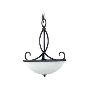 Seagull Lighting Pemberton 100 W 3-Light Medium Pendant S65075