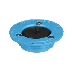 Mifab 4 x 2 in. Overall Size Cast Iron Closet Flange MCFOS42