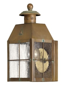 Hinkley Lighting 9-4/5 in. 60W Wall Mount Medium Lantern H2376