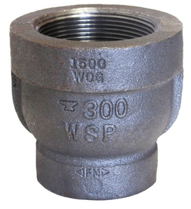 Female x Male 300# Galvanized Malleable Iron Reducing Coupling G300RC