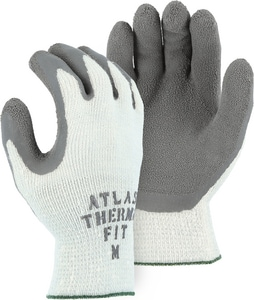 Majestic Glove String Knit Rubber Palm Glove with Tag M3388T01