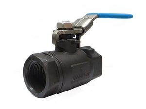 Milwaukee Valve Stainless Steel Standard Port Ball Valve with Latch Lock Lever M20CS0R03LL