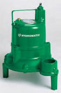 Hydromatic Pump 4/10 hp Automatic Sewage Ejector Pump HBV40AD110