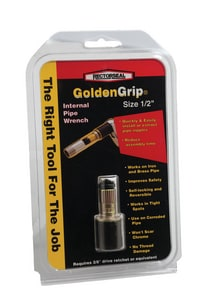 Rectorseal GoldenGrip™ Golden Grip Reversible Internal Pipe Wrench REC9725