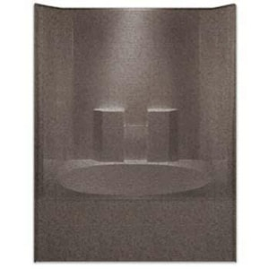 Aquarius Industries Millennia Collection 60 x 42 in. Tub and Shower with Left Hand Drain AM6042TSL