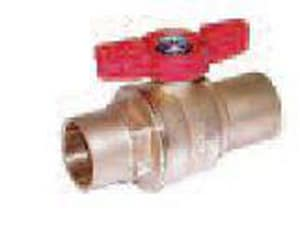 Legend Valve & Fitting 3-3/20 in. 150 psi Brass T-Head Sweat Ball Valve L101634