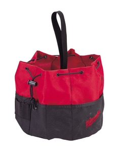 Milwaukee Parachute Bag in Black and Red M49170110