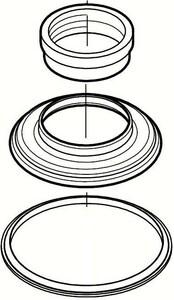 Pfister Hub Trim Ring Brushed Nickel P960048J