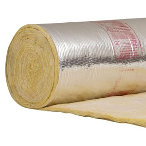 Owens Corning Fiberglass 2.2 x 48 in. Duct Wrap Soft Foil Scrim Kraft O373899