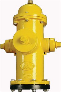 American Flow Control 10 ft. Open Bury Hydrant Right Less Accessories with Mechanical Joint AFCB62BUMJLAOR10