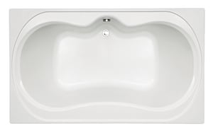Mirabelle® St. Augustine 72 x 42 in. Drop-In Bathtub with Center-Hand Drain MIRSAS7242