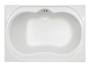 Mirabelle St. Augustine® 60 x 42 in. Drop-In Bathtub with Center-Hand Drain MIRSAS6042