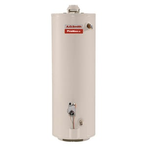 A.O. Smith ProMax® 50 MBH Aluminum Natural Gas Water Heater AGCVT4000L010000