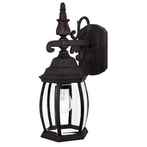 Capital Lighting Fixture French Country 6-1/2 in. 100 W 1-Light Medium Lantern C9866